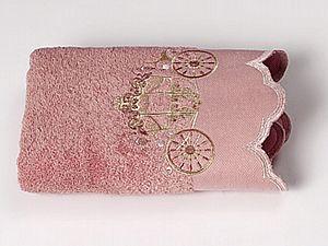 Полотенце Sofi De Marko Sofia-3 50х90 см, розовое