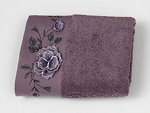 Полотенце Sofi De Marko Adrian-2 50х90 см, фиолетовое