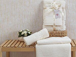 Комплект полотенец NUEVA (крем) 5