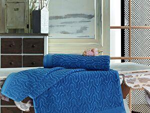 Купить полотенце Sofi De Marko VEGA (синие) 70х140 Полотенце