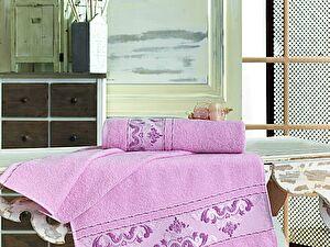 Полотенце Sofi De Marko Viste 70х140 см, розовое