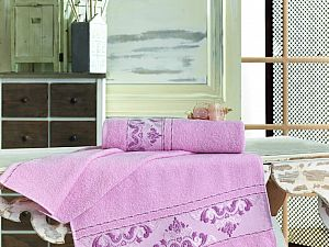 Полотенце Sofi De Marko Viste 50х90 см, розовое