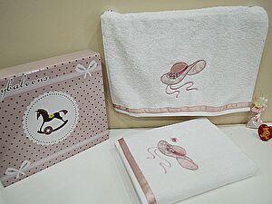 Детский набор из 2-х полотенец La Villa de Paris My Little Lady, розовый