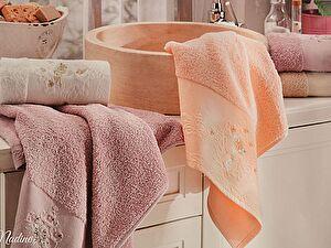 Набор из 2-х полотенец La Villa de Paris Nadine, темно-розовый