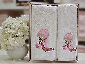 Детский набор из 2-х полотенец La Villa de Paris Alessandra, розовый