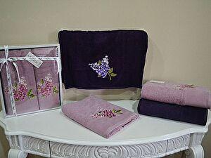 Полотенце La Villa de Paris Menekse 50х100 см, темно-розовое