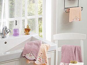 Набор из 3-х полотенец La Villa de Paris Gina, темно-розовый
