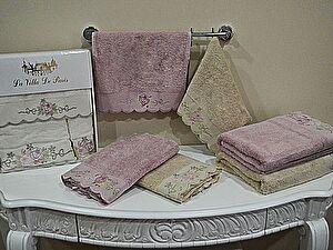 Набор из 3-х полотенец La Villa de Paris Cathy, темно-розовый