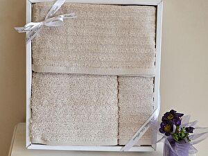Набор из 3-х полотенец La Villa de Paris Hammam Towel, бежевый