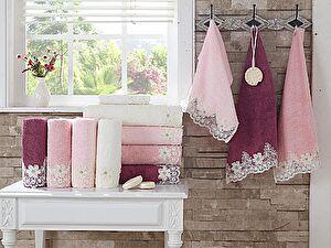 Набор из 3-х полотенец La Villa de Paris Baley, темно-розовый