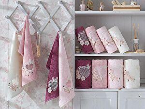 Набор из 3-х полотенец La Villa de Paris Aimer, темно-розовый