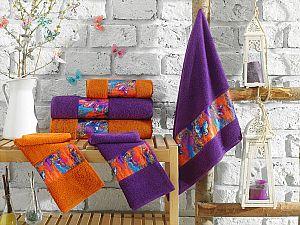 Набор из 3-х полотенец La Villa de Paris Greaness, фиолетовый