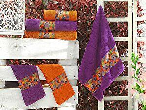 Набор из 3-х полотенец La Villa de Paris Broken, фиолетовый