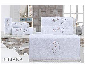 Набор из 3-х полотенец La Villa de Paris Liliana, белый