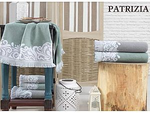 Набор из 3-х полотенец La Villa de Paris Patriza, серый