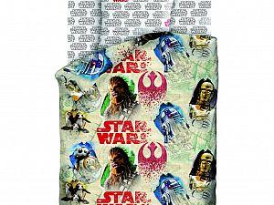 Постельное белье Star Wars Чубакка и Дроиды