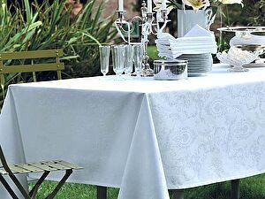 Купить скатерть Garnier-Thiebaut Mille Rubans Blanc