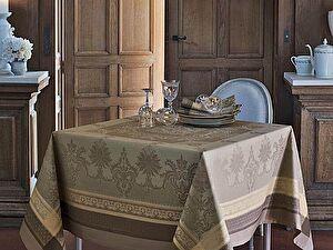 Купить скатерть Garnier-Thiebaut Fontainebleau Tilleul с салфетками