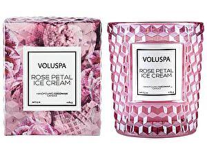 Свеча ароматическая Voluspa Мороженное с лепестками роз