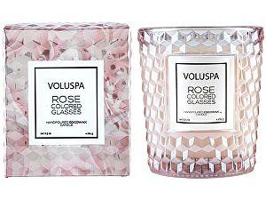 Свеча ароматическая Voluspa Мир в розовом цвете