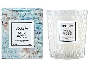 Свеча ароматическая Voluspa Молочная роза