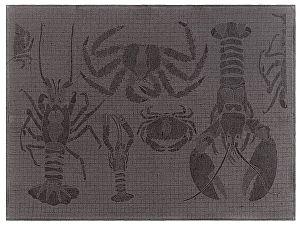 Купить полотенце Leitner Podeidon антрацит 50х70 см