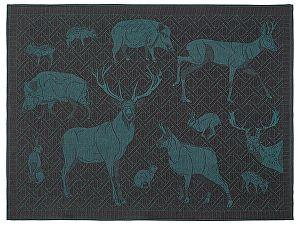 Купить полотенце Leitner Artemis бирюзовое 50х70 см