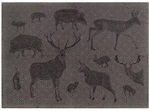 Купить полотенце Leitner Artemis антрацит 50х70 см