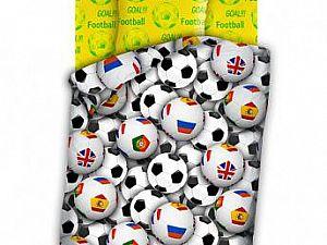 Постельное белье 4YOU Футбольные мячи