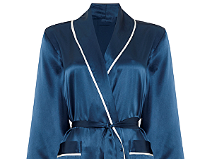 Купить халат Gingerlily Gown, темно-синий