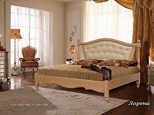Кровать Альянс XXI век Лорена кожа