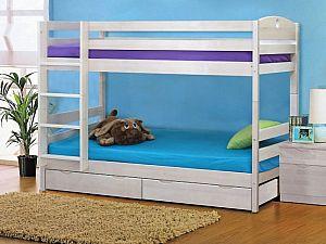 Кровать Боровичи детская двухярусная c ящиками
