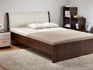 Кровать Боровичи Гнутая мягкая спинка