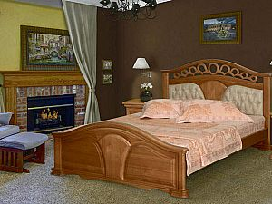 Кровать Фокин Валенсия 2 кожа