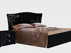 Кровать Ярцево Европа-9, арт. 092/62  черный (160)