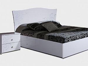 Кровать Ярцево Европа-9,  арт. 092/72 белый (160)
