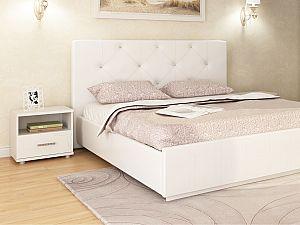 Кровать Арника Лина интерьерная (best 85) с основанием