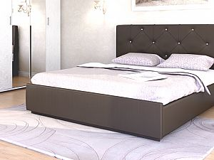 Кровать Арника Лина интерьерная (best 88) с основанием