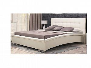 Кровать Арника Луиза 03 (140х200) с основанием 140 ножка 185 мм-5 шт, без матраса