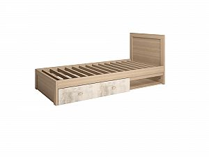 Кровать Ижмебель Ультра 5 одинарная 900 мм