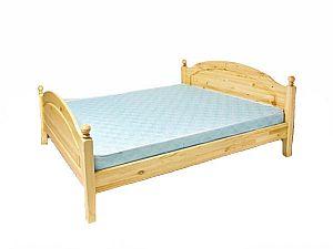 Кровать Бобруйскмебель Лотос с заглушкой  с ножной спинкой, Б-1090-11