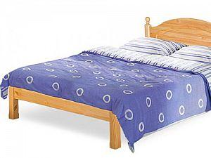 Кровать Бобруйскмебель Лотос с заглушкой  без ножной спинки, Б-1090-21