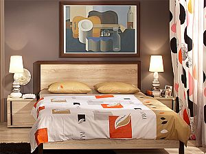 Кровать Глазов Bauhaus 2 (160)