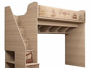 Комплекс Ижмебель Квест 18 (80) универсальный с лестницей