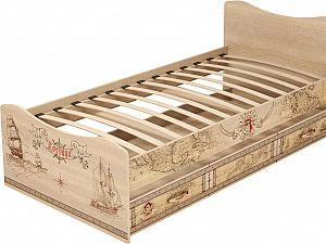 Кровать 4 Ижмебель Квест (90) с ящиком