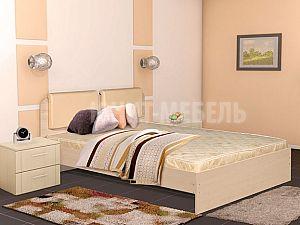Кровать Юнит-мебель Люкс с основанием
