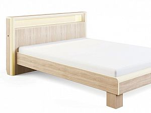 Кровать МСТ Оливия с подсветкой, мод. 3.1 (140)