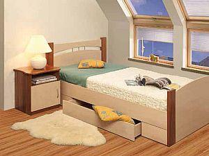 Кровать Олимп-Мебель  с ящиком 900