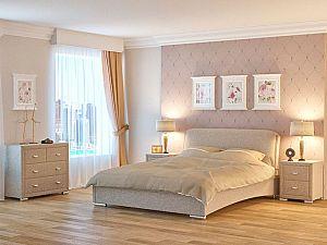 Кровать Nuvola 4  (глазго), 1 подушка