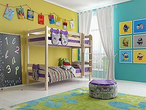 Кровать двухъярусная Райтон Отто-9 с прямой лестницей
